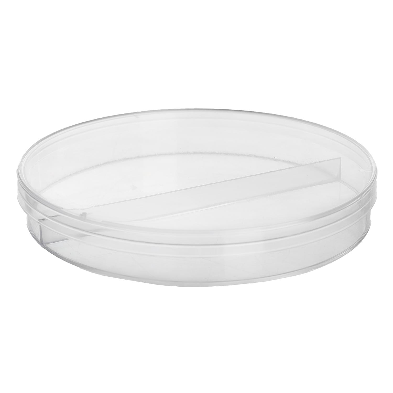 Petri-dish 9 cm (2 compartment)