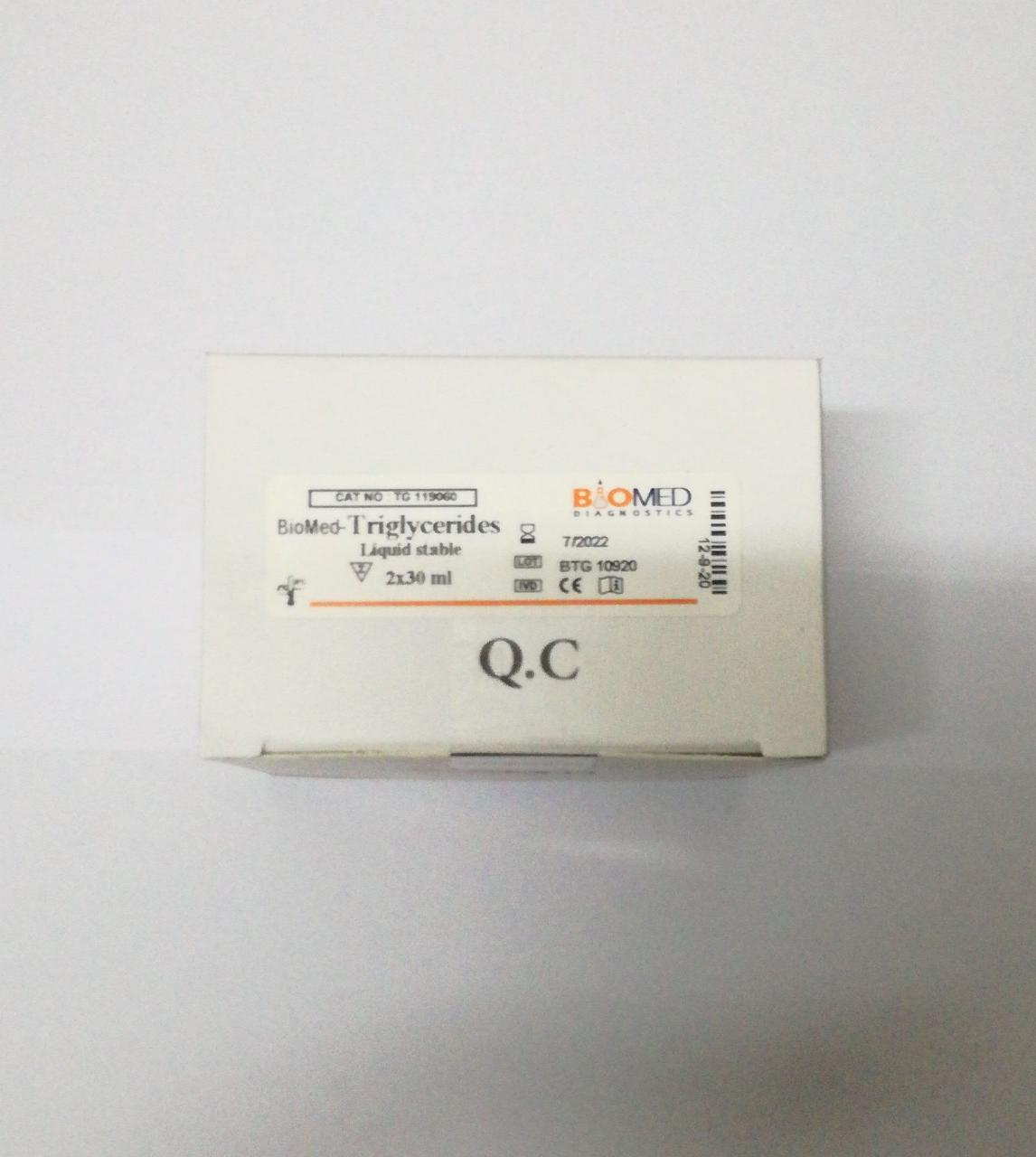 BioMed-Triglyceride 2*30ml