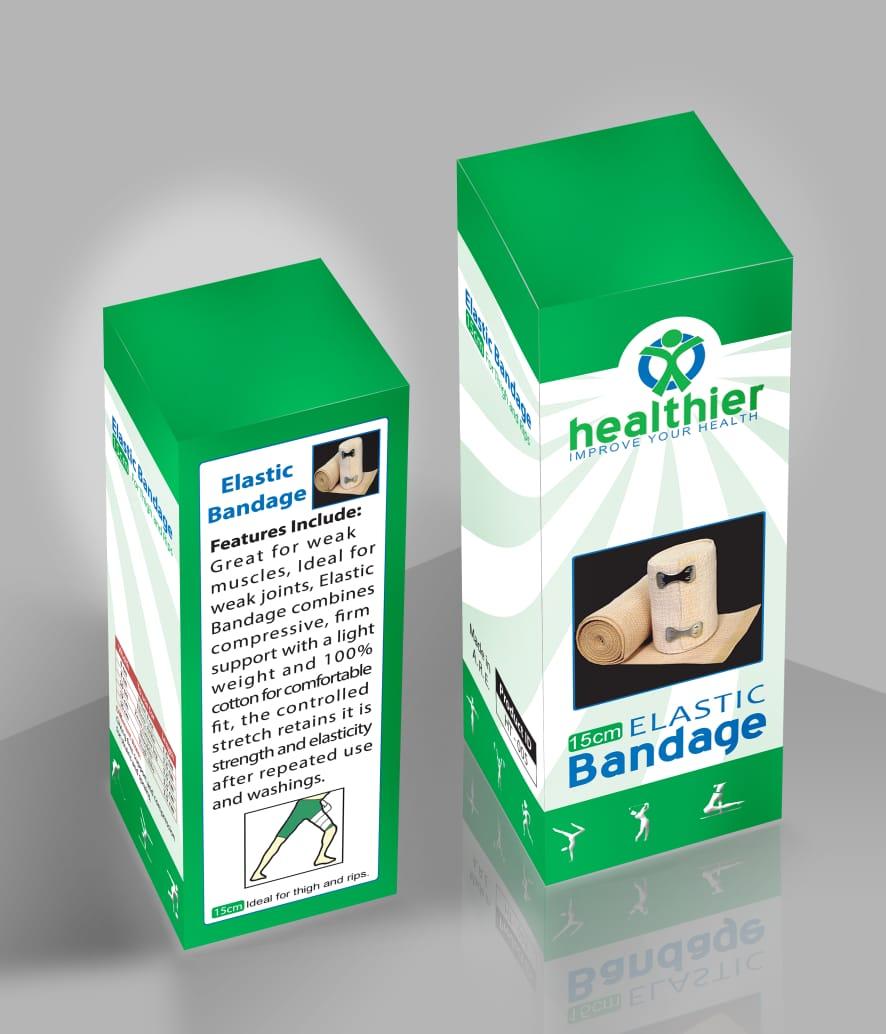 healthier ELASTIC Bandage (15 cm)