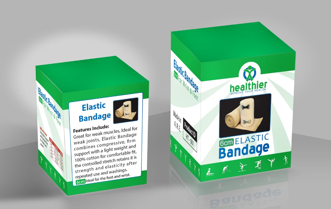 healthier ELASTIC Bandage (6 cm)