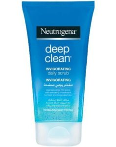 Neutrogena deep clean daily scrub