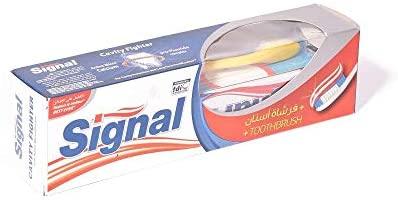 Signal cavity fighter 50 gm+brush teeth