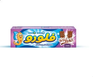 Fluoro Kids' gel toothpaste Checolate