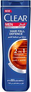 CLEAR shampoo hair fall defence 180 ml