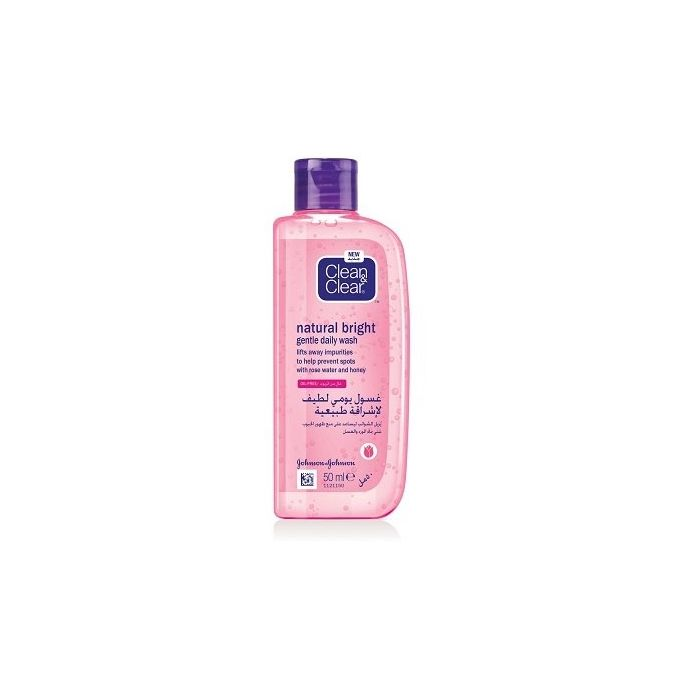 Clean&Clear natural bright gentle daily wash 50ml