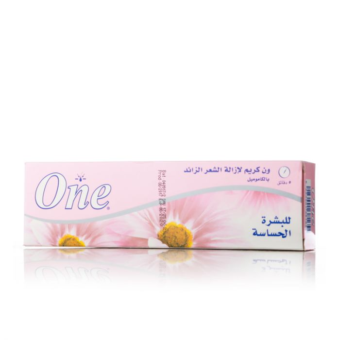 One hair removal cream sensitive skin 140g