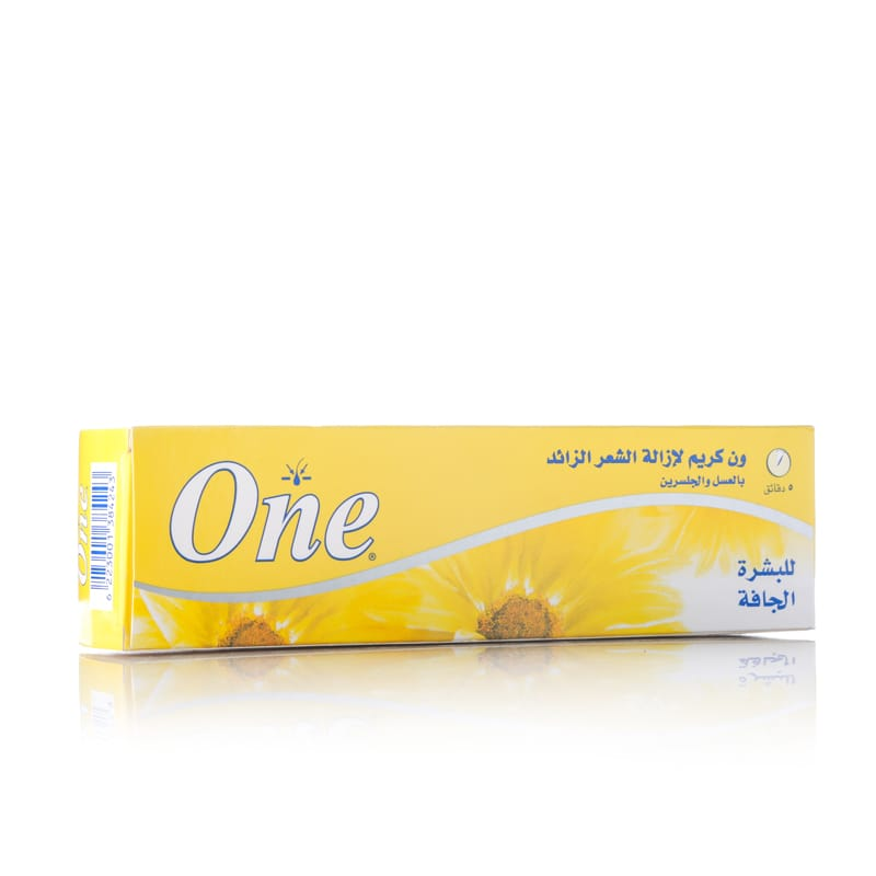 One hair removal cream 140g Dry skin
