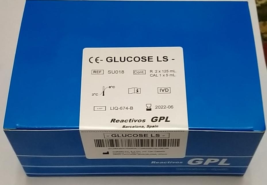 GPL Glucose 2*125 ml