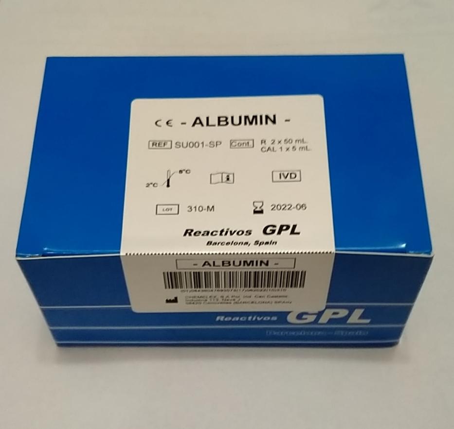 GPL Albumin 2*50 ml