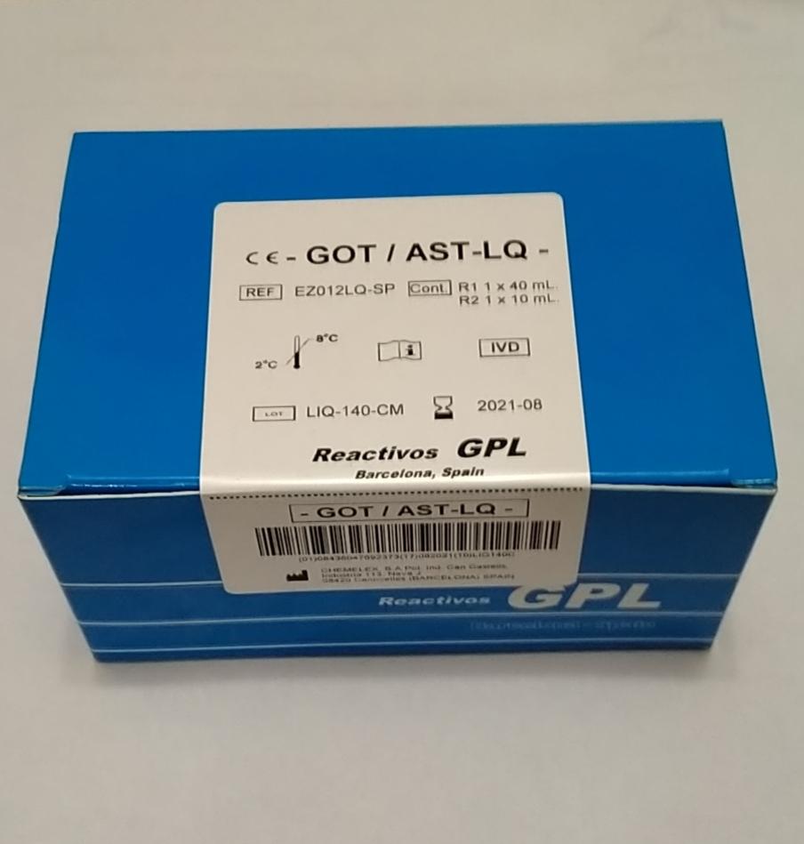 GPL AST(GOT) 40+10 ml