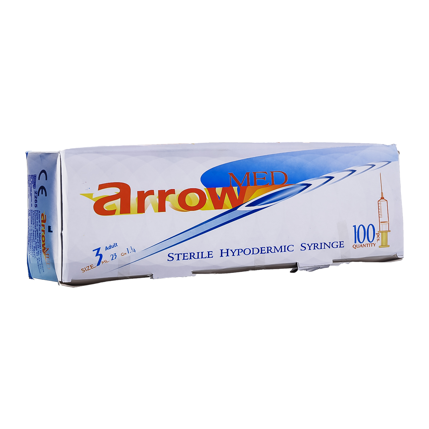 Arrow syringe 3 ml adult