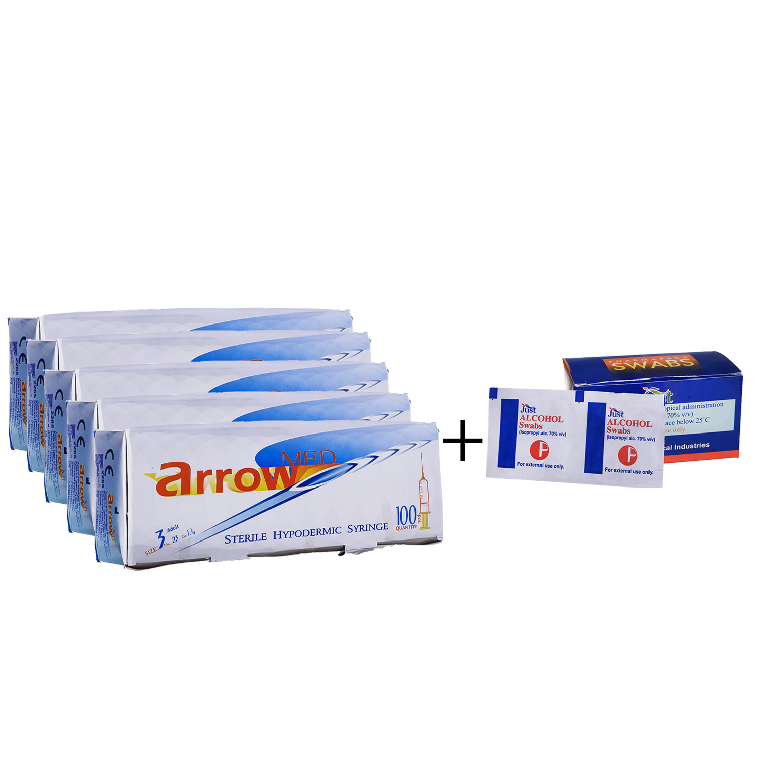 Arrow syringe 3 ml adult Offer
