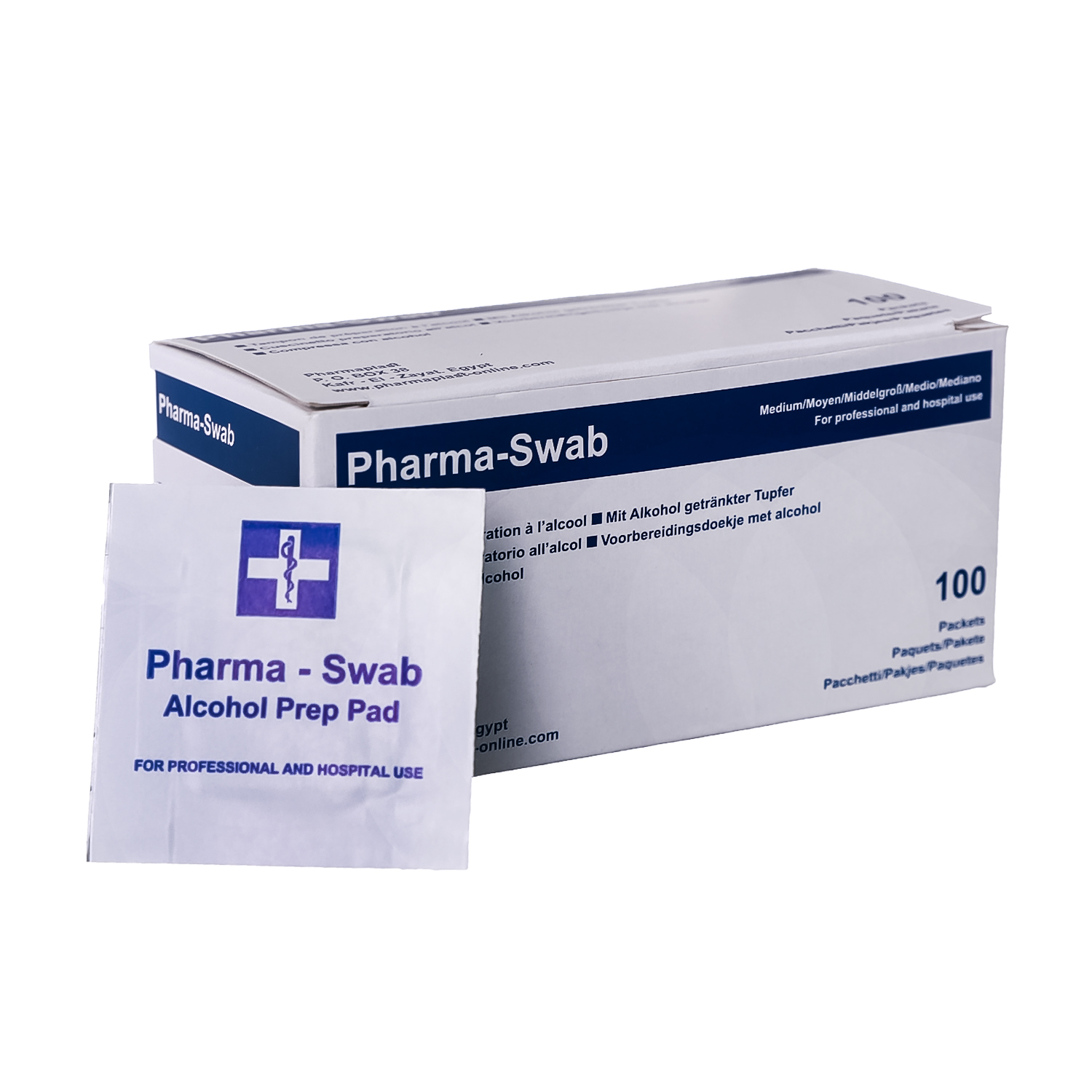 Alcohol swab ( Pharma swab )