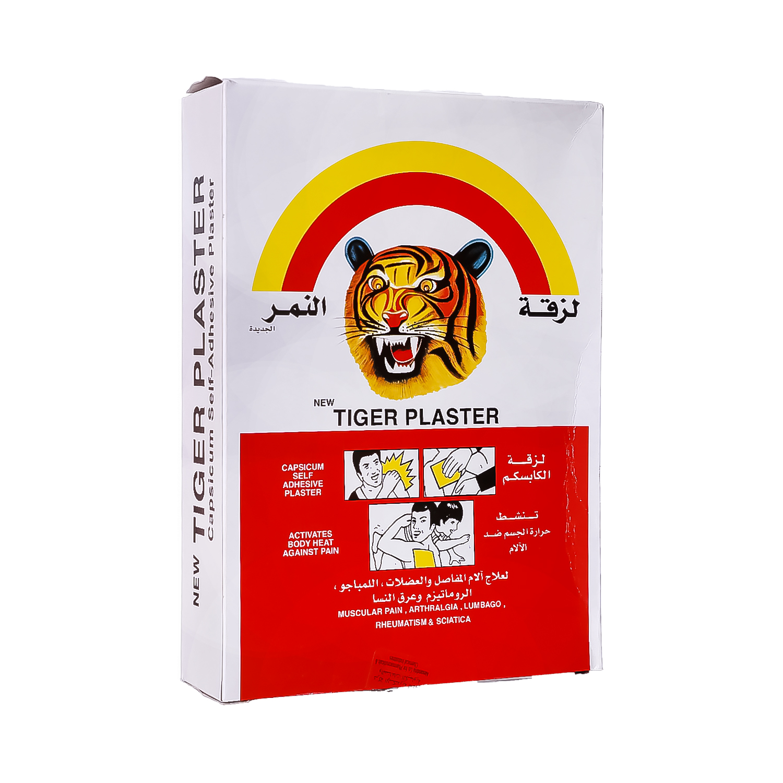 the original tiger plaster